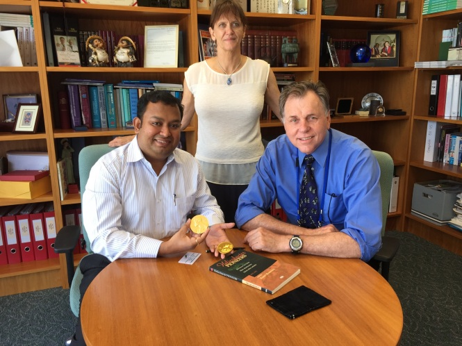 with Dr. Barry Marshall